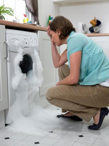 Máy giặt bị rò nước