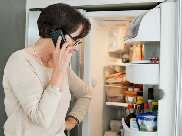 Tình trạng tủ lạnh không vào điện