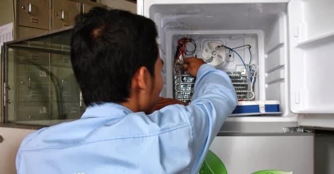 Đội ngũ nhân viên chuyên nghiệp nhanh chóng khắc phục sự cố tủ lạnh