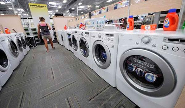 Máy giặt lồng ngang tiết kiệm nước và giặt sạch hơn