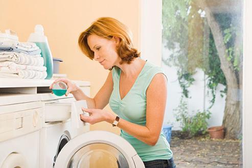 Sử dụng đúng loại bột giặt và đúng liều lượng