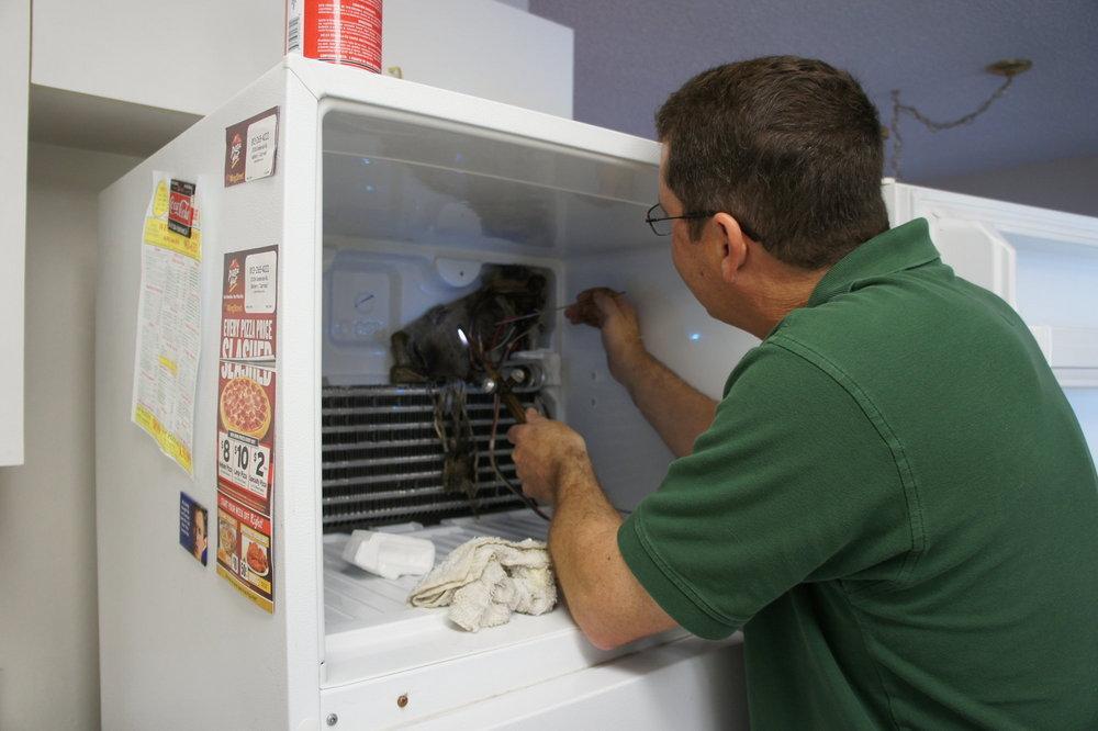 Sửa chữa tủ lạnh hỏng block