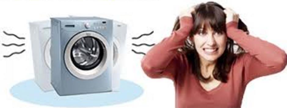 Tiếng ồn của máy giặt khiến bạn đau đầu