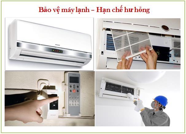 Bảo vệ máy lạnh hiệu quả nhất