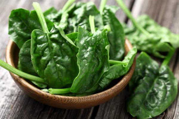 Các loại rau cỏ lá xanh