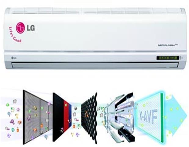Cấu tạo bên trong máy điều hòa LG giúp máy hoạt động hiệu quả