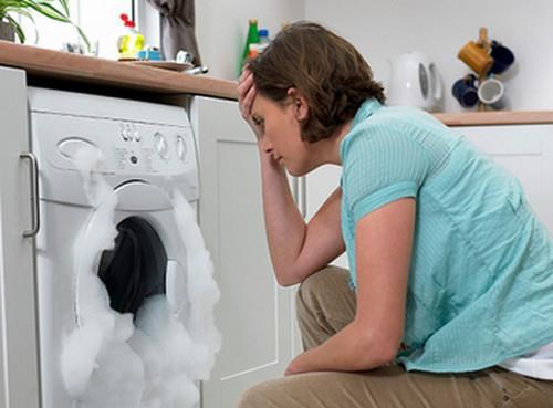 máy giặt lại xả nước không ngừng