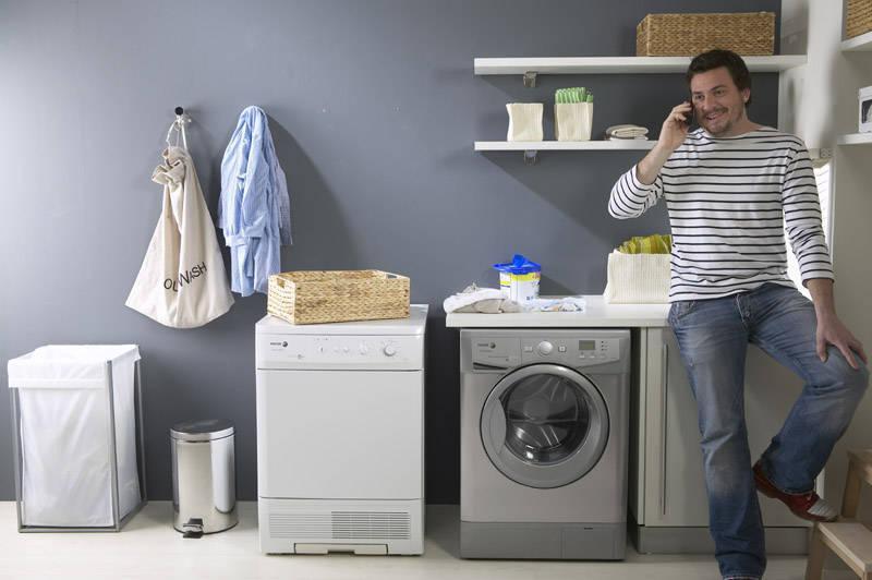 Khi bạn liên hệ dịch vụ vệ sinh máy giặt chúng tôi sẽ đến ngay