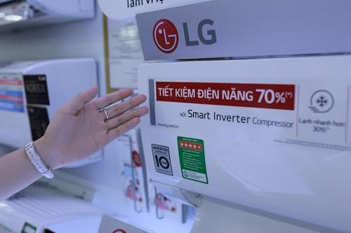 Máy điều hòa LG, một sản phẩm bán chạy số 1 Việt Nam
