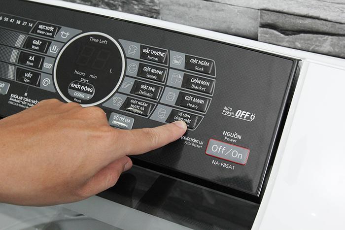 Cách vệ sinh máy giặt Panasonic