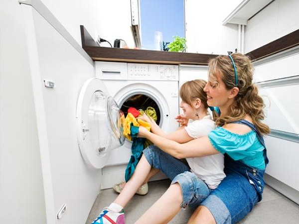 Có thể tự khắc phục kịp thời những rắc rối nhỏ của máy giặt