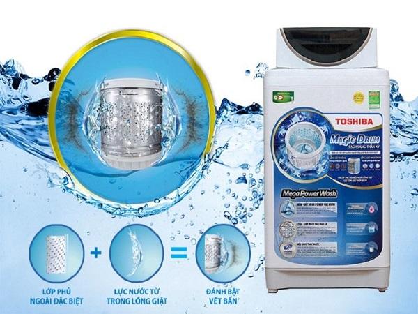 Khả năng làm sạch vượt trội của máy giặt Toshiba