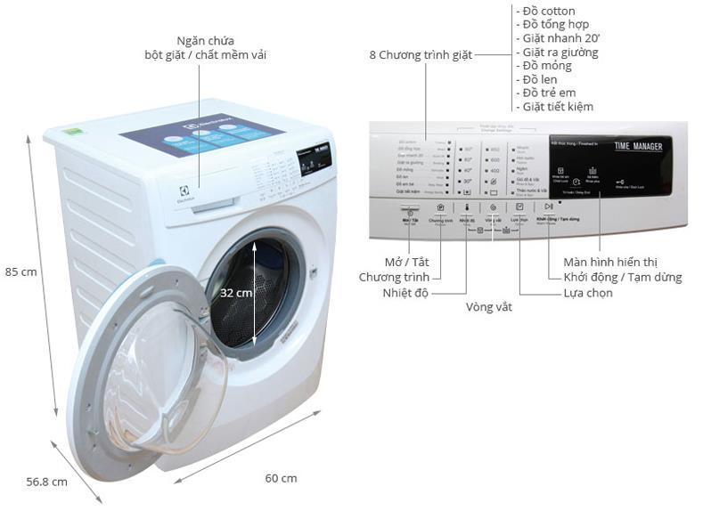 Máy giặt Midea MAS-8001 lồng đứng 8.0kg