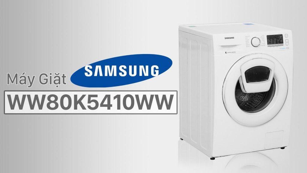 Một trong các loại máy giặt Samsung được ưa chuộng