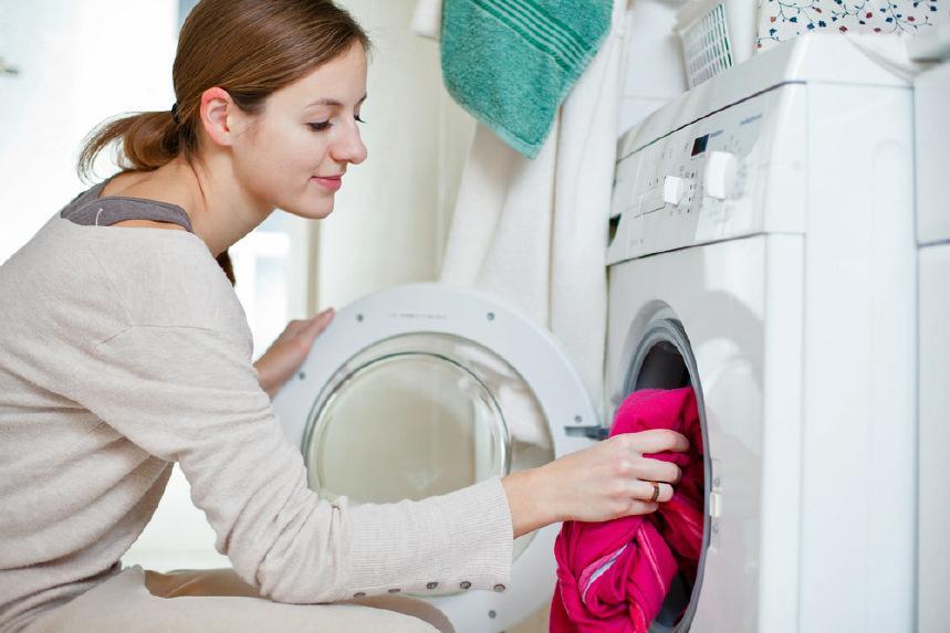 Chiếc máy giặt trong gia đình