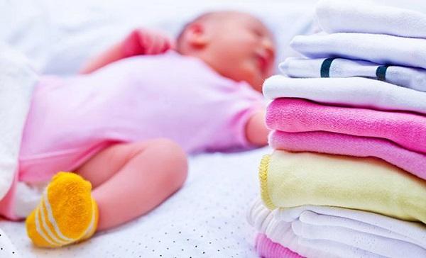 Cần lưu ý một vài điểm khi sử dụng nước xả vải cho trẻ sơ sinh