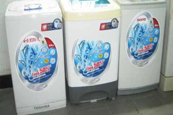 Mua máy giặt cũ tiết kiệm, giá rẻ