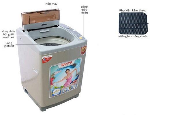 Nêu cách sử dụng và bảo dưỡng máy giặt tại nhà