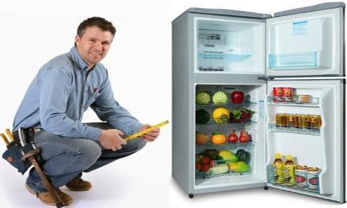 Thay đổi diện mạo cho gian bếp bằng cách trang trí tủ lạnh cũ cực hay