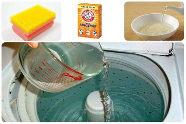 Mẹo vệ sinh máy giặt đơn giản bằng những vật dụng có sẵn trong nhà