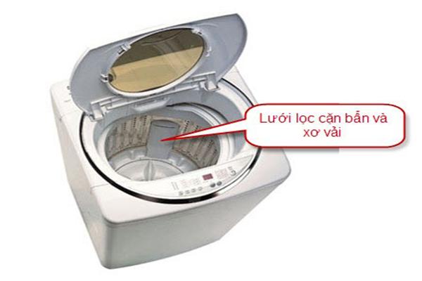 Hướng dẫn cách vệ sinh máy giặt Sharp đơn giản tại nhà