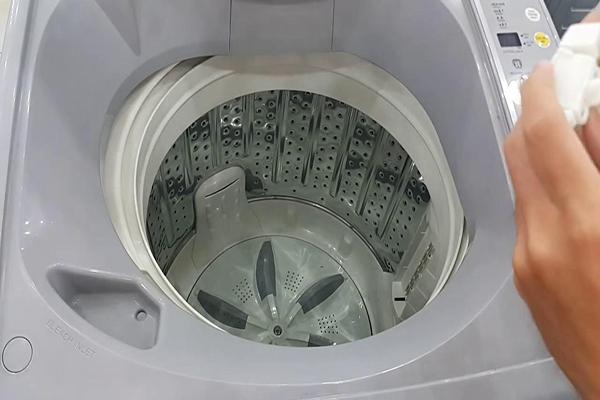 Hướng dẫn cách bật chế độ vắt của máy giặt Sanyo